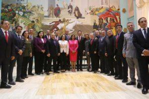 En el evento no participaronlos cinco gobernadores electos de la Mesa de la Unidad Democrática