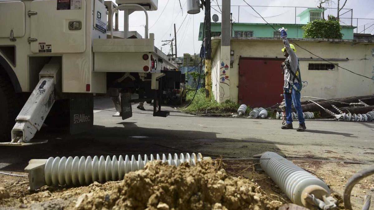 La contratación de Whitefish corrió a cargo de la Autoridad de Energía Eléctrica (AEE) de Puerto Rico
