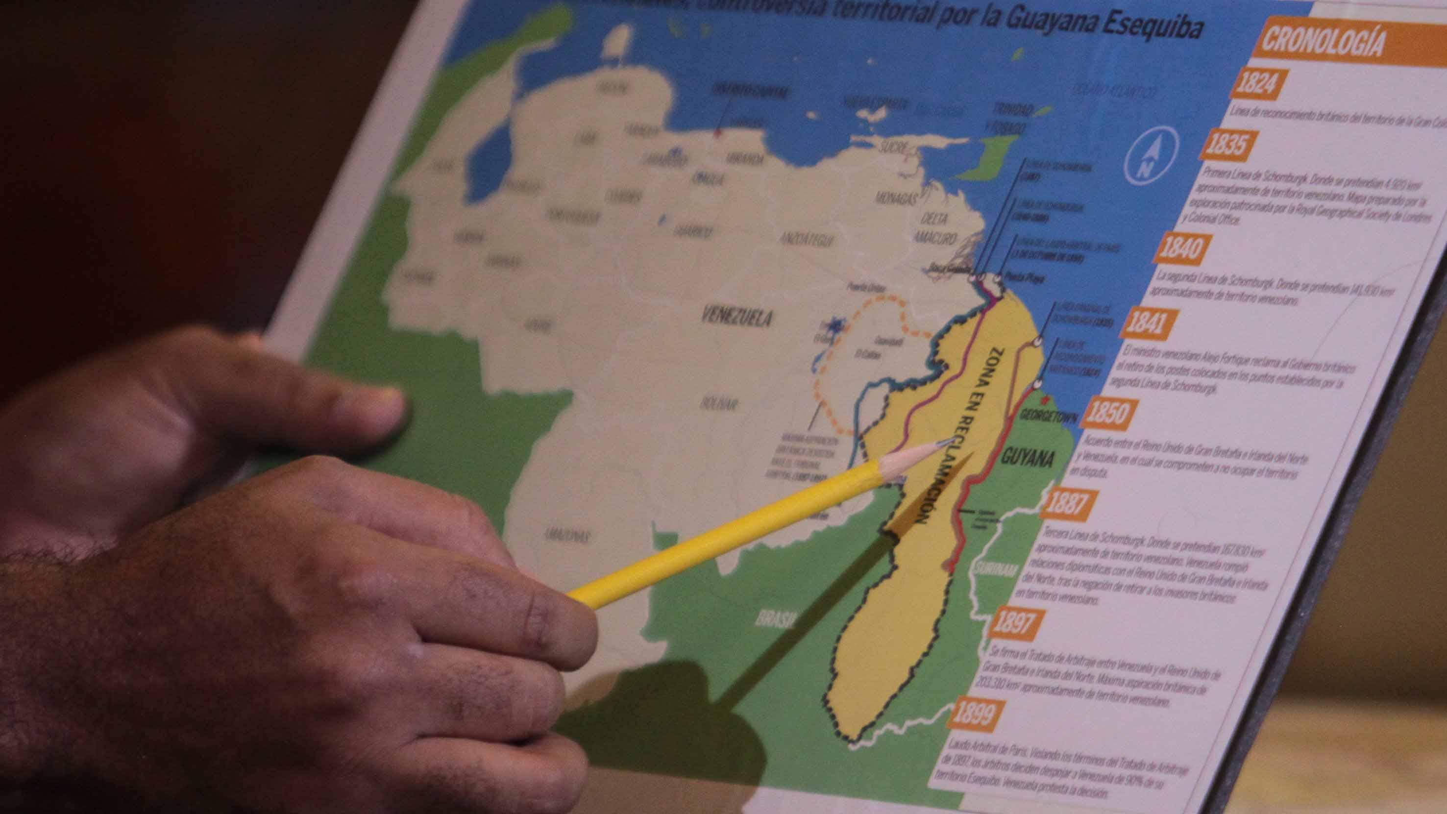 Doblellave-Venezuela podría enfrentar sanción de la ONU por disputa del Esequibo