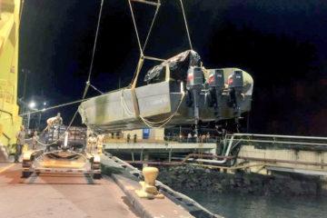 La droga fue incautada mientras viajaba en una nave rápida semisumergible conocida como LPV.