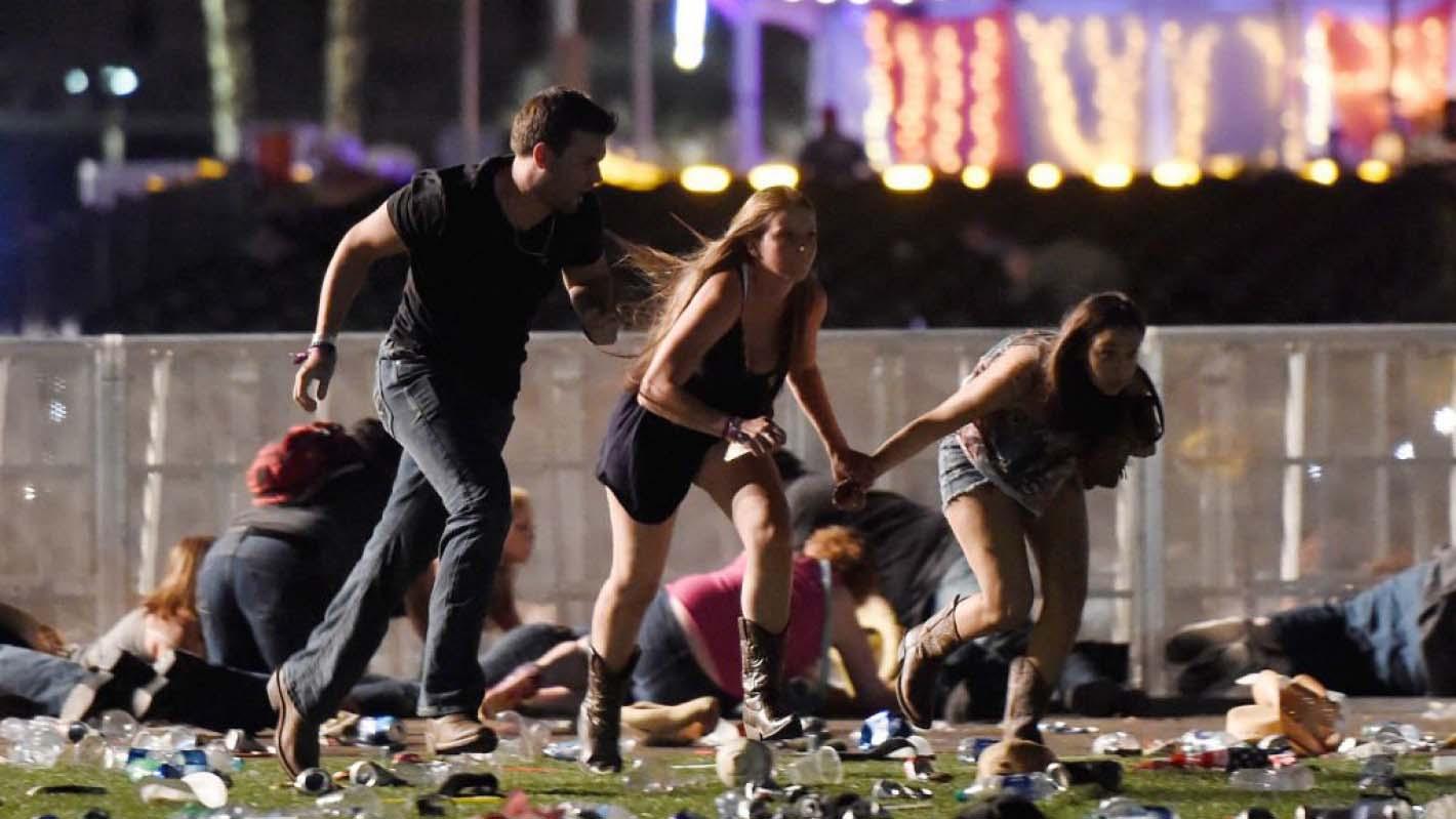 El pasado domingo primero de octubre un francotirador mató a al menos 58 personas e hirió a más de 500 durante un concierto de Country
