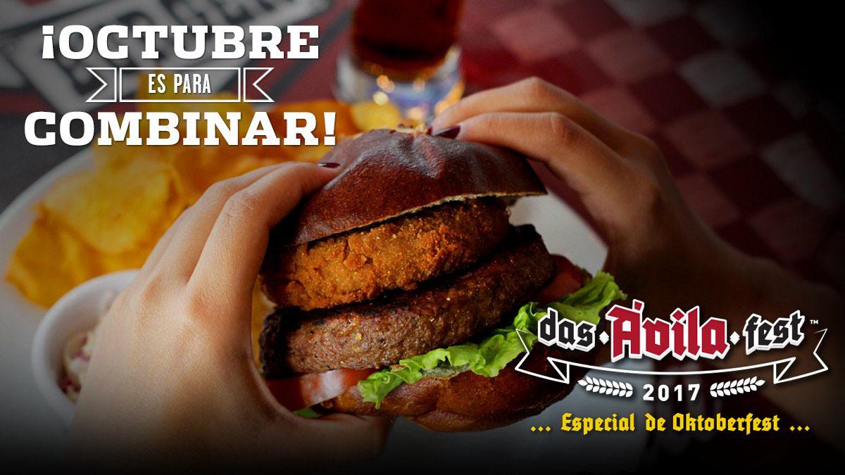 La morcilla Carupanera será el atractivo principal de la hamburguesa Karú Pana, diseñada por la cadena de restaurante Ávila Burger