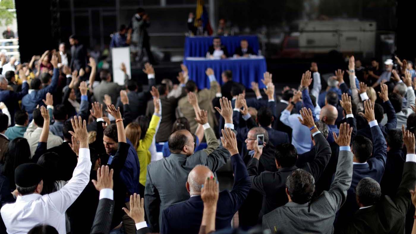 """Los jueces designados por el parlamento de mayoría opositora serán """"tribunal en exilio"""" en la próxima ceremonia de la Organización"""