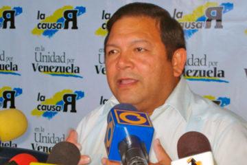 """El candidato a la gobernación pidió a los habitantes salir a protestar ante """"fraude"""" del CNE"""