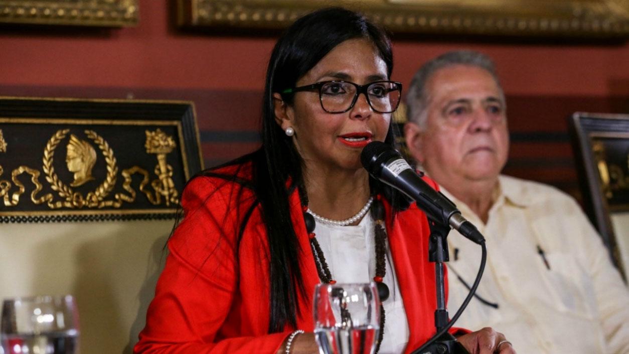 """Delcy Rodríguez aseguró que hasta el momento la Asamblea constituyente """"activó procesos de consultas sobre temas cruciales en el país"""""""