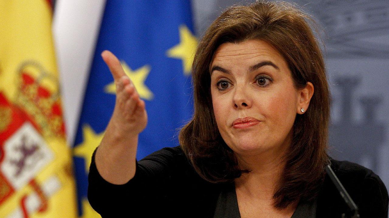 La vicepresidenta, Soraya Sáenz de Santamaría asegura que se tomarán acciones que eviten que se pisotee la libertad en la región