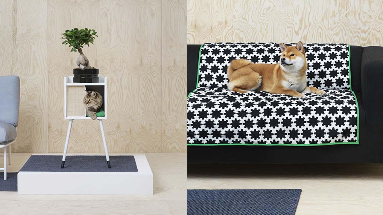 """Camas para perros, gatos, rascadores, protectores de muebles y más, conforman la colección """"Lurving"""""""