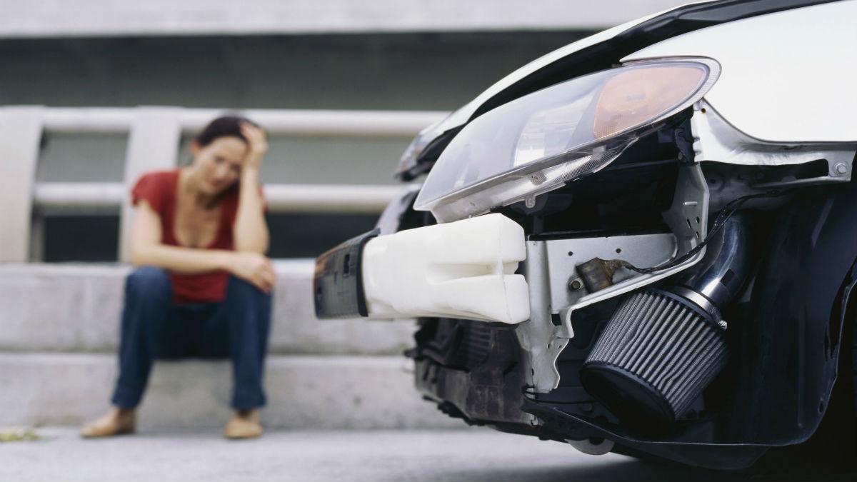 La joven fue arrollada por un vehículo que presentó fallas mecánicas