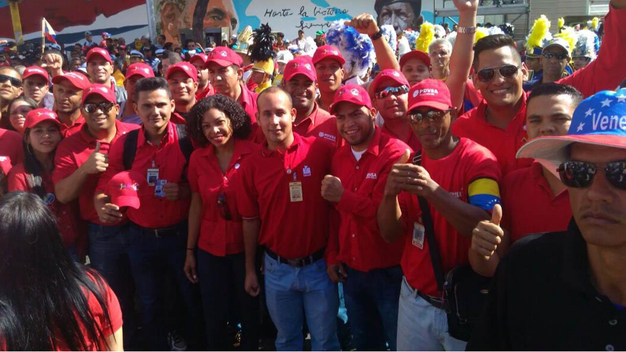 El primer vicepresidente del PSUV, Diosdado Cabello, informó que la movilización partirá desde el sector Longaray