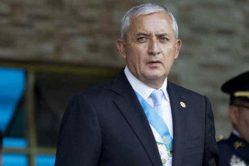 Otto Pérez fue presidente de Guatemala