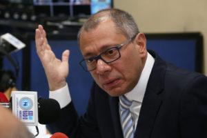 Jorge Glas, ingresó este martes 3 de octubre en una prisión en Quito, por el caso de corrupción de Odebrecht en el país