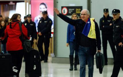 El alcalde aseguró desde Madrid que la desunión es aprovechada por el Gobierno de Nicolás Maduro