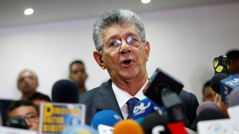"""El CEN del partido protestó el """"atropello inconstitucional"""", al tiempo que ofreció toda su solidaridad al diputado de Voluntad Popular"""