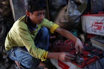 Actualmente, el trabajo infantil afecta a 152 millones de niños, el 73 por ciento de ellos en las peores formas