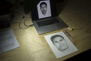 """Digital o a mano alzada, este """"dibujo"""" es una herramienta de las investigaciones que llevan los cuerpos de seguridad"""