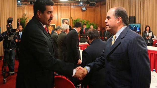 El ministro de información, Jorge Rodríguez, reafirmó que el dialogo continuará en República Dominicana