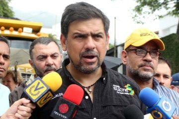 El alcalde Carlos Ocariz ratificó que próximamente acudirán a otros organismos para denunciar el presunto fraude ocurrido en las regionales