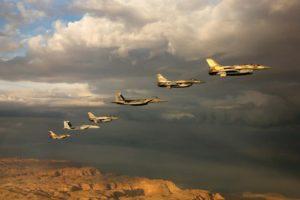 Se trata de la primera vez que aviones franceses o alemanes realizan prácticas en el espacio aéreo israelí