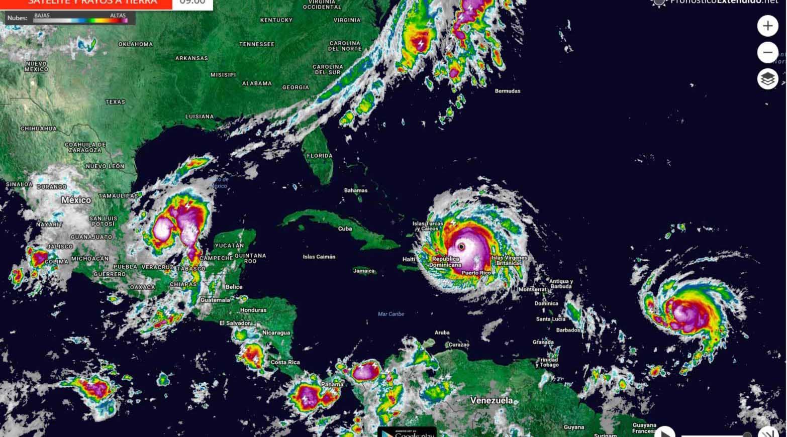 """""""Harvey"""", """"Irma"""" y """"María"""" alcanzaron máximas categorías, causando daños con un costo estimado de 299 mil millones de dólares"""