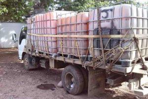 El combustible descubierto iba a ser transportado a la frontera colombo-venezolana para luego ser vendido