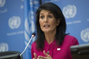 La embajadora estadounidense realiza el pedido tras el nuevo lanzamiento de un misil balístico intercontinental que realizó esa nación