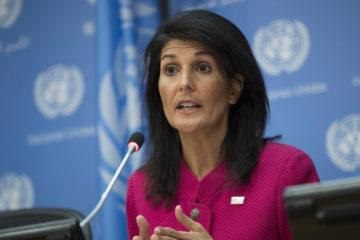 """La embajadora, Nikki Haley, aseguró que una """"dictadura"""" con un """"esquema criminal"""" rige al país"""