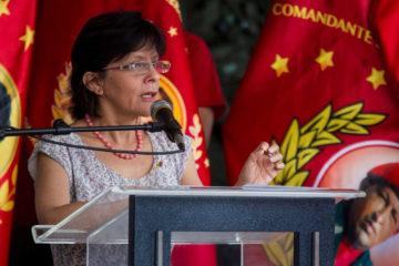 La rectora del CNE resaltó que hay 32.805 mesas de votación distribuidas en 14.384 centros electorales a lo largo del territorio nacional