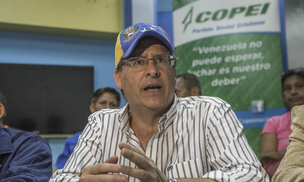 El candidato de Copei para el municipio Libertador de Caracas desistió tras considerar que el Gobierno manipula a las personas