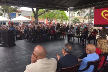 La Asamblea Nacional Constituyente celebró el acto en la Plaza Bolívar de cada entidad