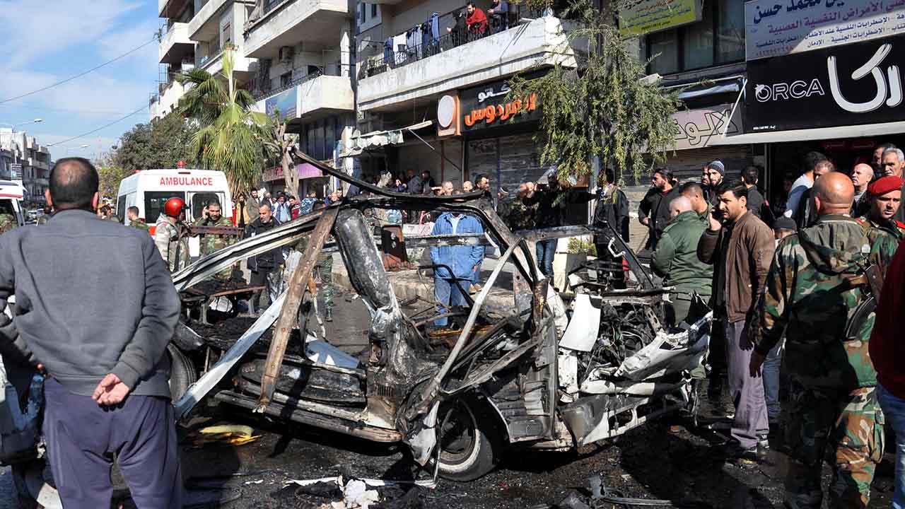 El ataque ocurrió en el barrio Akrama, de la ciudad de Homs, donde vive una comunidad musulmana a la que pertenece el presidente Bashar al Asad