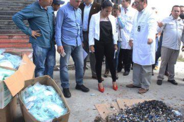 La gobernadora, Laidy Gómez, denunció la desincorporación de 71 mil unidades de suministros médicos