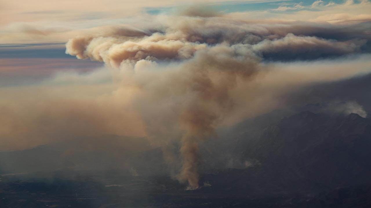 Más de 930 km2 al sur del estado son consumidos por las llamas