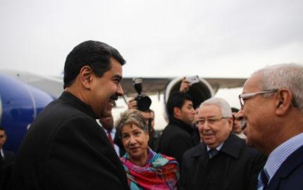 Esta es la sexta vez que el mandatario sudamericano pisa el suelo de Argelia en los últimos tres meses