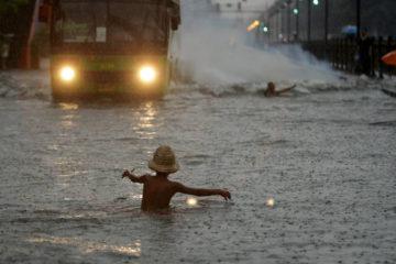 La tormenta se acerca al Mar de China Meridional, pues ya está fuera de la zona filipina
