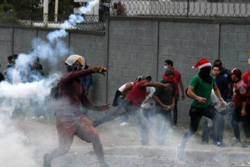 Honduras se encuentra sumida en el caos