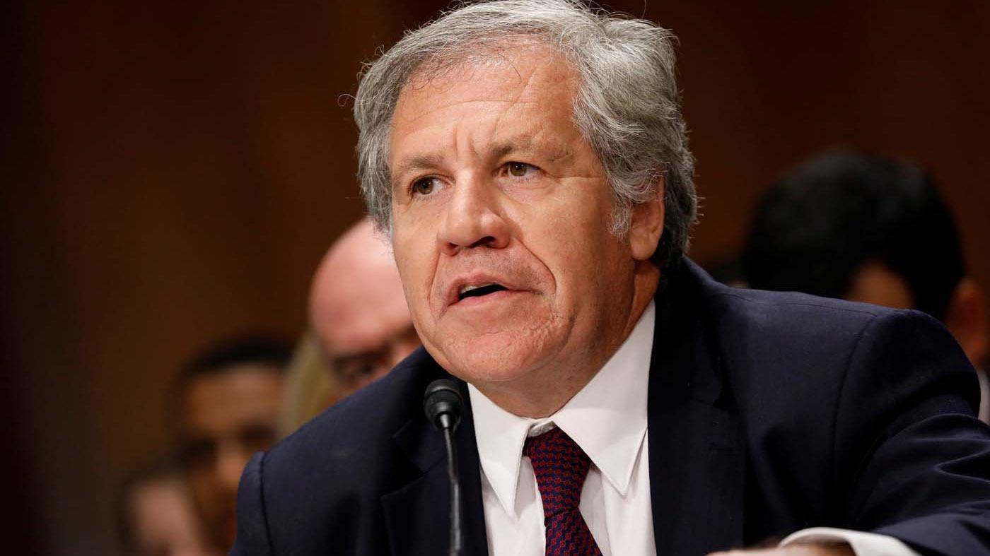El secretario de la OEA es uno de los mayores críticos del oficialismo y ha rechazado el nuevo intento de diálogo oposición-Gobierno