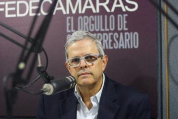 El presidente de Fedecamaras, Carlos Larrazabal, asegura que es urgente resolver el tema cambiario