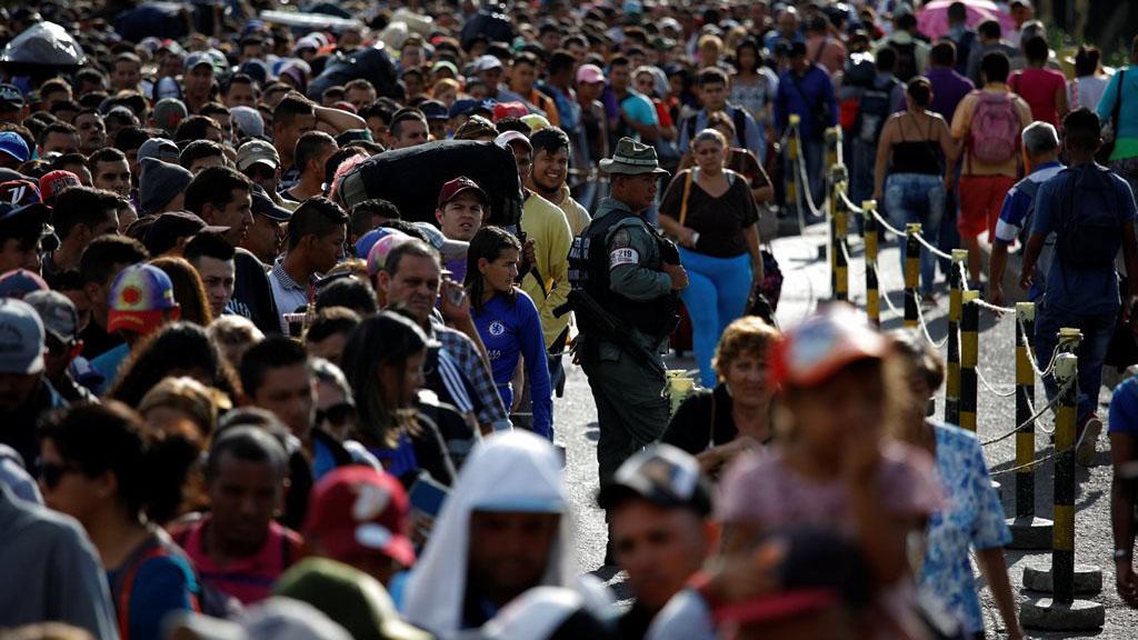 """DobleLlave-Venezuela catalogó de """"falsas"""" las cifras colombianas sobre migración de venezolanos"""