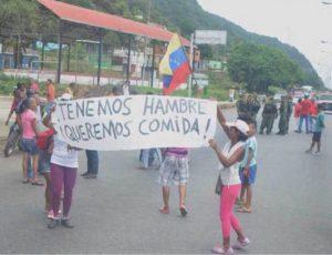 Abastecimiento en Venezuela - Hambre