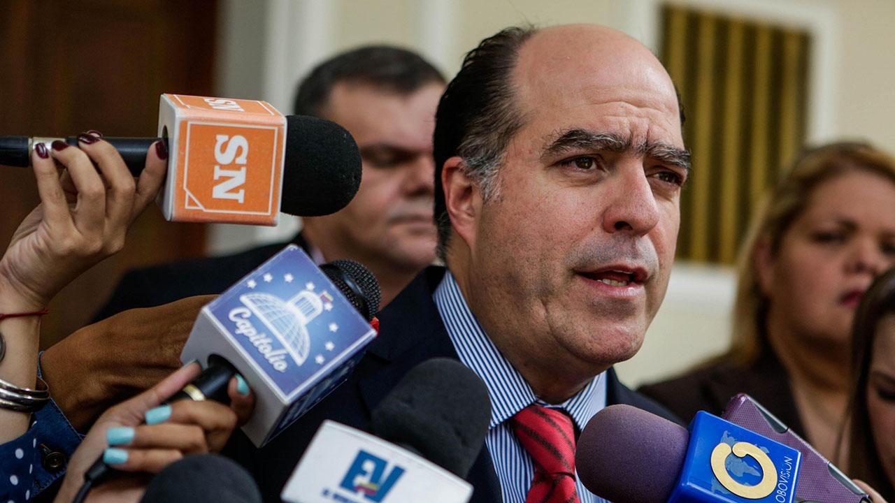 El ex presidente del Parlamento contradijo las declaraciones de Jorge Rodríguez sobre el supuesto acuerdo al que habían llegado