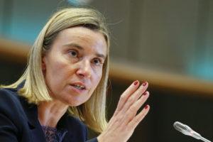 La jefa de la diplomacia europea exigió al Consejo Nacional Electoral garantizar un equilibrio en los comicios