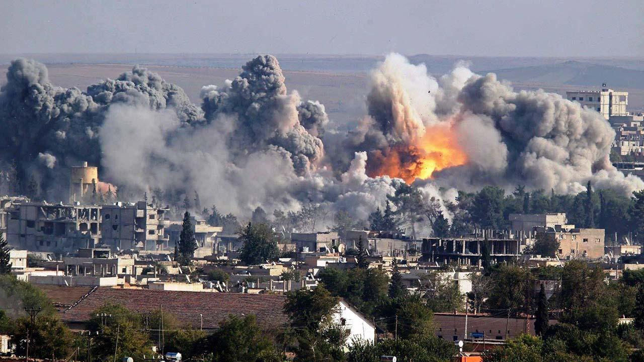 Estados Unidos encabezó un bombardeo en contra del Estado Islámico al este de Siria