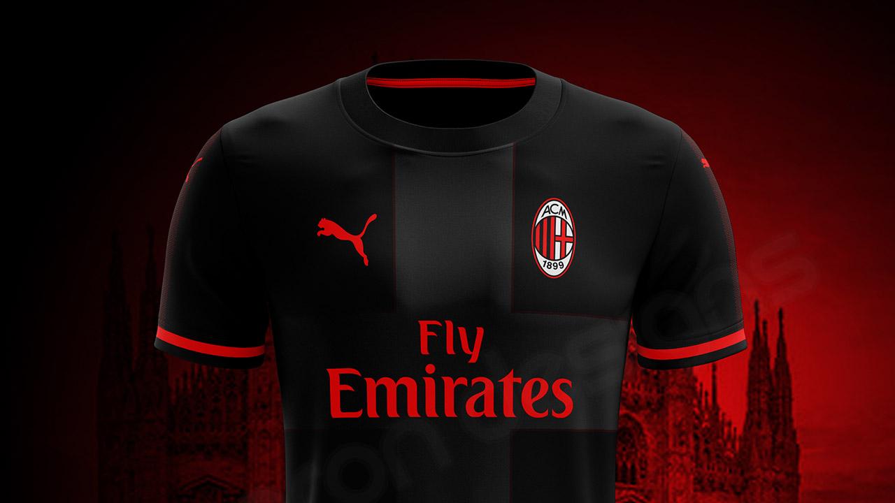 229f547358 Equipación del Milan ahora será de Puma