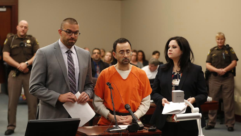 Nassar ya había sido procesado hace 13 días a 175 años por abuso sexual en otra corte del estado de Michigan