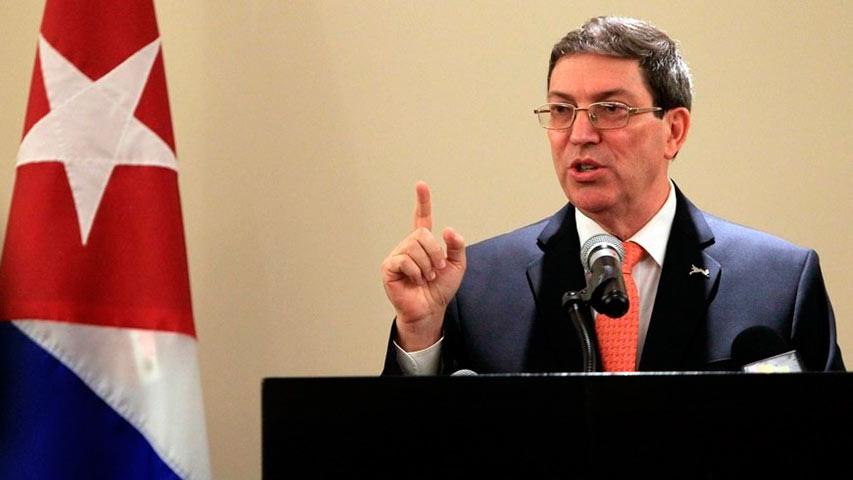 """El Ministerio de Exteriores considera que """"instigan abiertamente al derrocamiento, por cualquier vía"""" del Gobierno venezolano"""