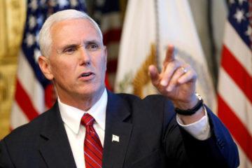 El vicepresidente de Estados Unidos explicó que la medida se debe a que el gobierno de Nicolás Maduro ha violado los principios democráticos