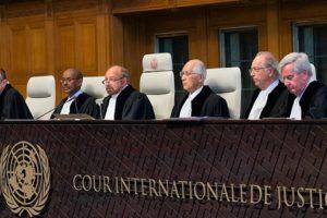 La Corte Internacional de Justicia dictaminó que la suma debe ser 378 mil 890 dólares muy por debajo de los 7 millones de dólares que exige el país afectado