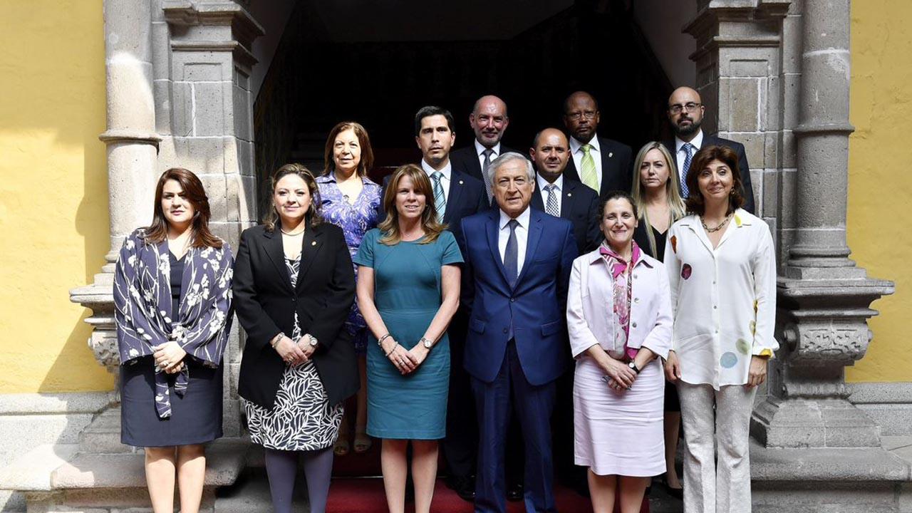 Las declaraciones fueron hechas por la canciller Cayetana Aljovín, respaldada por los 14 países miembros del Grupo de Lima
