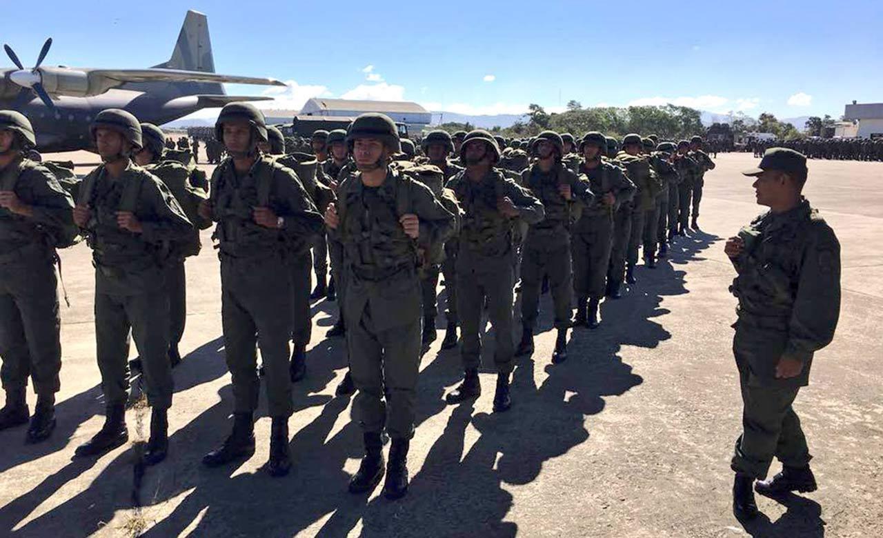 El ministro para la defensa, Vladimir Padrino López indicó que todos los componentes participarán en las actividades durante este fin de semana