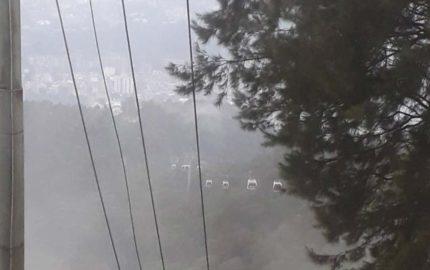Una falla eléctrica en Maripérez desde las 5 de la tarde aproximadamente habría ocasionado la interrupción del servicio en el transporte turísitico.